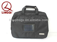 Portable solar battery charger messenger bag for iPAD and Mobile Phone
