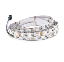Break point Continuous Transmission P943 Dream Color 12V Built in IC 6 Pins RGB SMD 5050 LED Strip Light