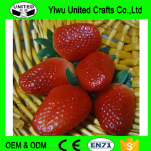 artificial strawberry fake fruit party kitchen house decor mini fruit faux food
