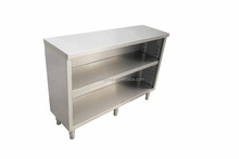Kitchen cheap price modern metal cabinet without doors