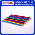 Promotional rainbow plastic cheap wholesale color pencils