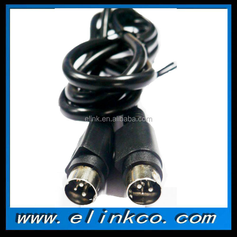 Mini Din 3Pin Power Cable with Lockable Plugs