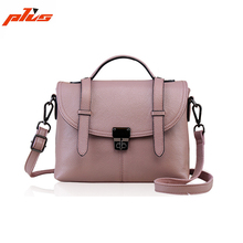 Wholesale Cross Body Shoulder Bag Genuine Leather Women Handbags Short Handle Handbag