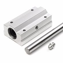 High Accuracy Aluminum Router Motion SC20L-UU 20mm Linear Motion Slide Unit Block Bearing SC Series