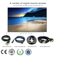2x2 led display screen background lcd video wall with Samsung