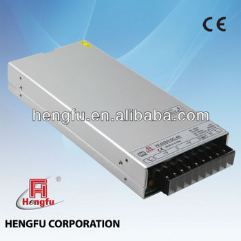 480W as Famous as Meanwell 1U Power Supply from Hengfu