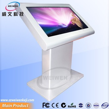 Hot 49inch shopping mall interactive touch screen stand alone kiosk