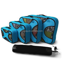 4 Set Packing Cubes Travel Organizers