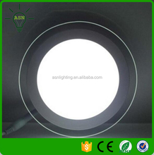 glass ceiling light cover 6W 12W 18W downlight ip44 dongguan led lights