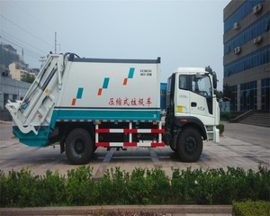 electric garbage truck/cheap Compactor Compressed Garbage Truck for sale