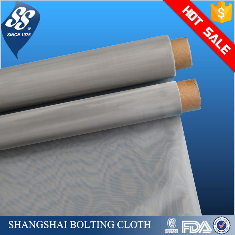 Industrial grade stainless steel wire mesh for silk screen printing