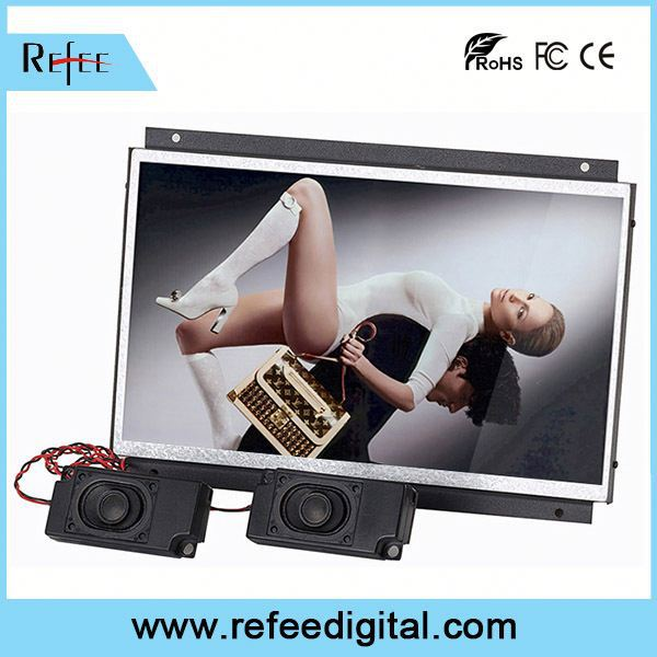 "Media Player and Android Solution advertising display 19"" cga ega vga open frame lcd monitor"