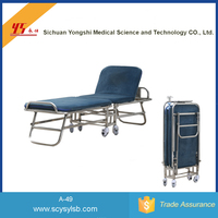 Economical Foldable Hospital Accompanying Recliner Bed Chair