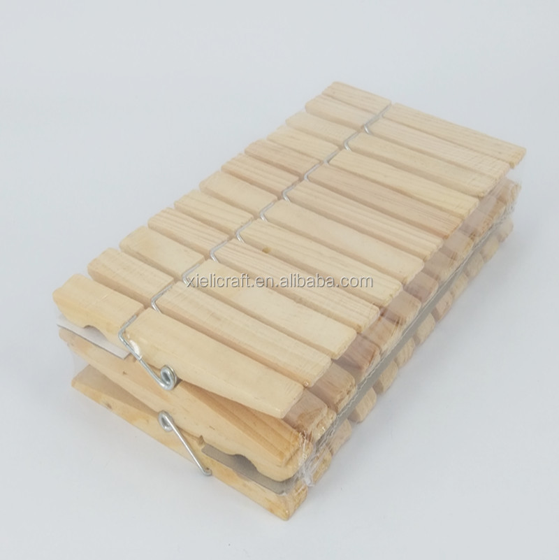 9.8cm High quality hot sales wooden clothes pegs 9812