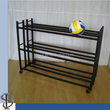 S6243 steel double 3 tier basketball storage rack