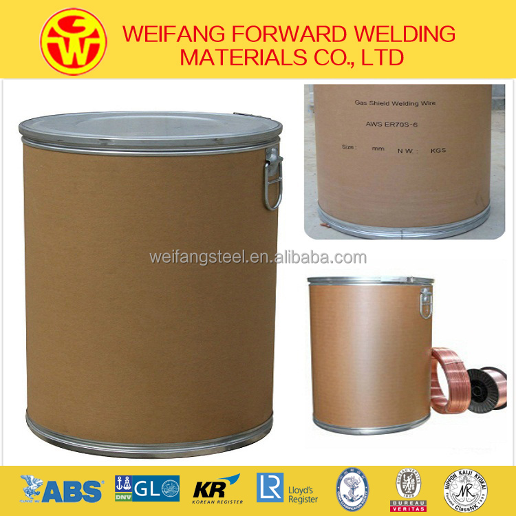 ER70S-6 drum welding wire of high quality with CCS, ABS, NK, LR verified