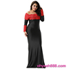 Three Color Four Size Accept OEM Long Sleeve Maxi Dress