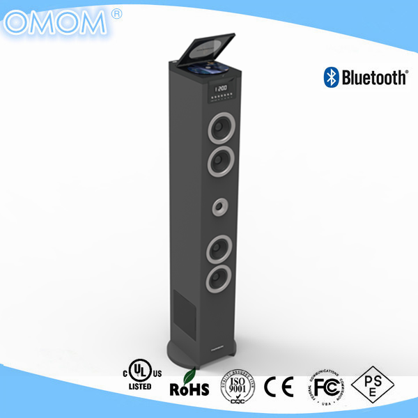 60 WATTS FLOOR STANDING CD PLAYER SPEAKER WITH MP3/Bluetooth OHM-CD150