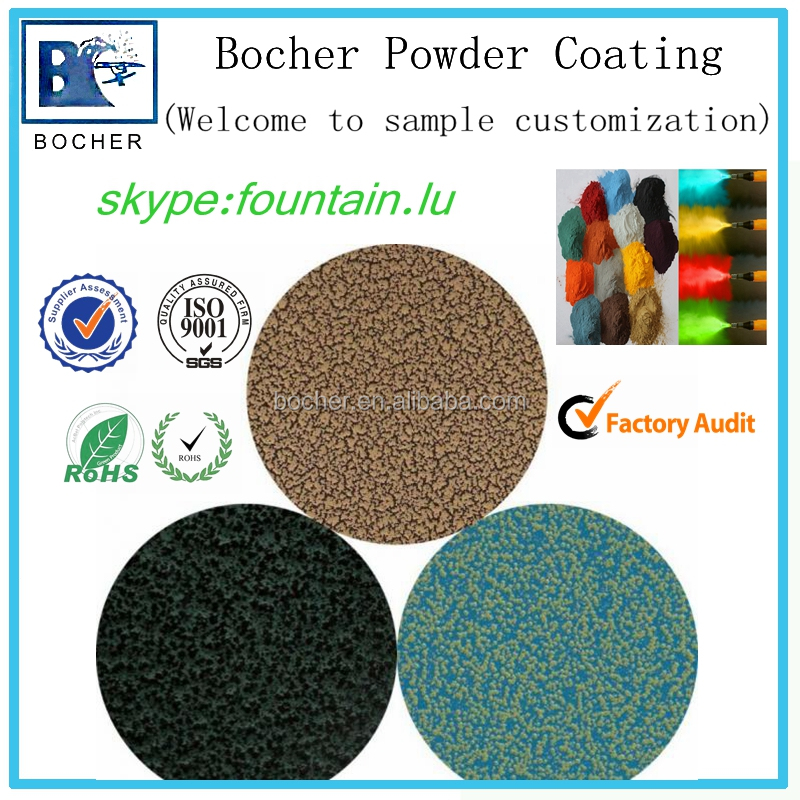 cheap price thermosetting epoxy powder coating of texture finish