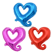 18 inch Hollow Heart Balloons Helium Foil Balloons For Birthday/PartyWedding/Engagement Decoration helium love Balloon