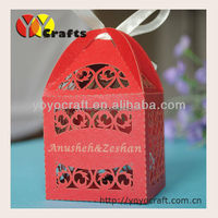 hot laser cut indian sweet boxes indian wedding cake boxes with engrave free logo free ribbon