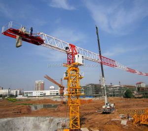 QTP63-5510-6T Topless Tower Crane 6ton Self Erecting Tower Crane