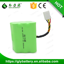4/3A 3500mAh 7.2V NI MH Rechargeable Battery Pack For Vacuum Neato Series
