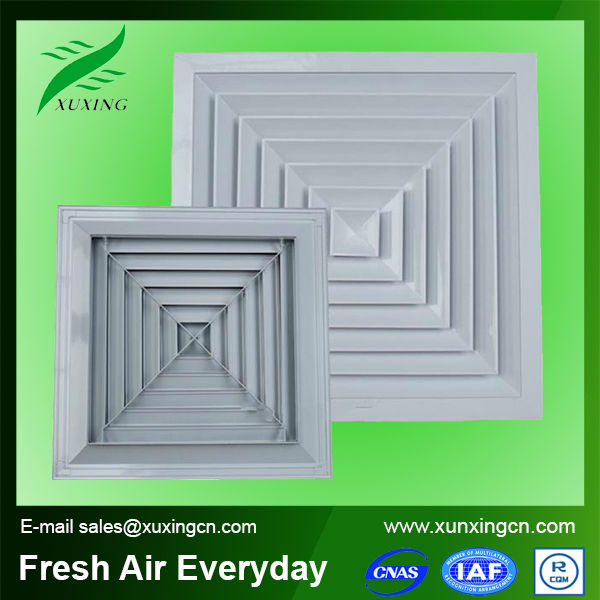 Hot sale HVAC aluminum wooden air conditioner cover air diffuser for ventilation