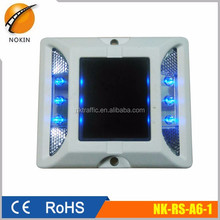 LED Traffic safety Road Stud Reflectors solar powered marker light
