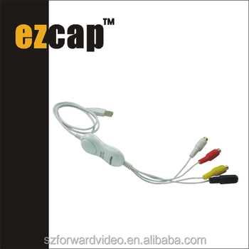 USB Video Capture for Mac10.8 SD Video Grabber ezcap128