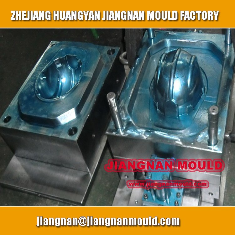 OEM Custom Plastic injection Safety helmet mould/Custom design plastic helmet mould/Helmet Mold made in China