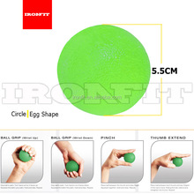 Factory Price TPR Hand Finger Exercise Therapy Massage Grip Ball