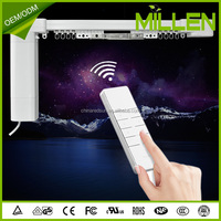 Home automation system remote control wireless motorized smart curtain for smart home