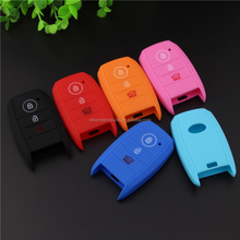 Protection Key Chain Fits Smart Car Key Silicone Case