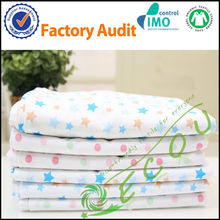 Baby/ Kid 100% Organic Cotton Fabric Printing Bed Sheets