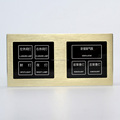 Touch light panel custom bedside switch hotel lamp control switch