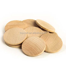 "1.5"" Round Disc Unfinished Wood Cutouts - Ready to Be Painted and Decorated"