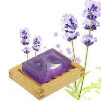 Natural Handmade Soap lavender glycerin handmade soap with lavender essential oil,bath soap---281013