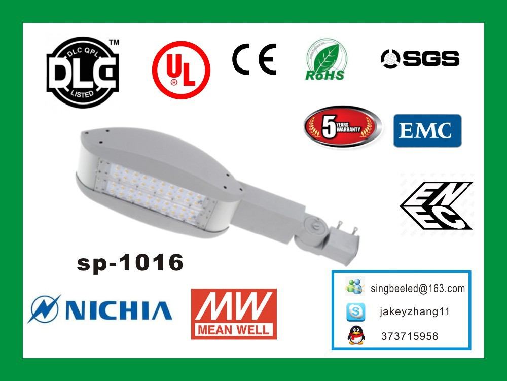 Andorra AD led street light with UL/DLC/LM79 china supplier with 5 years Warranty