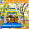 2016 hot sale bouncy castle paint blue giant bouncy castle wholesale