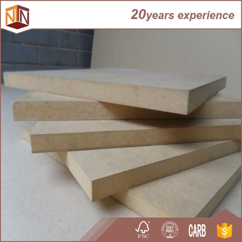 Low price of waterproof medium density fiberboard low 12mm 680kg/m3 mdf