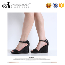 women wear chengdu shoes pu sole ladies wedge sandals hot tomato shoes
