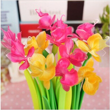 2015 Promotional Novelty Kids Pen Silicone Flower Top Pen