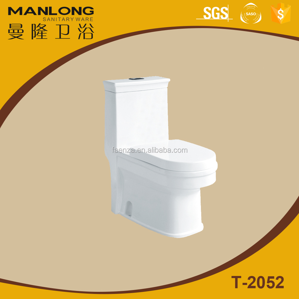 Ceramic Sanitary Ware One-Piece Toilet