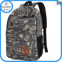 hot sell Eco-Friendly girls leisure canvas backpack