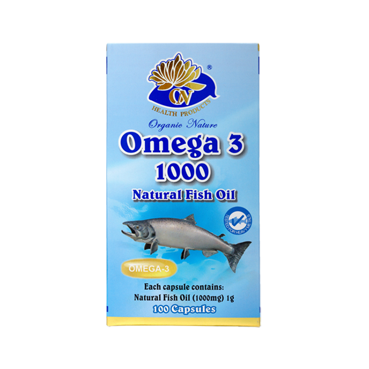 Fashion high quality advanced deep sea fish oil capsule health care product
