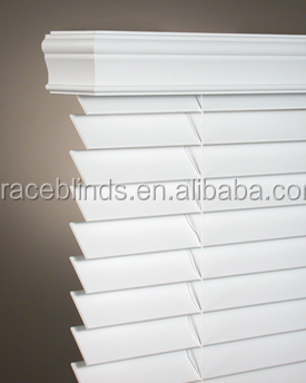 50 High Profile Headrail Faux wood or PVC Venetian Blinds Made in China