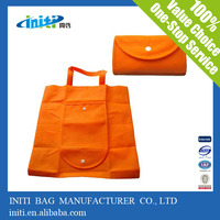 Hot sale promotional new non woven shopping bag folding