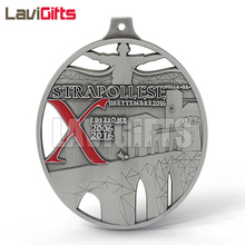 Promotion Cheap Award Souvenir Custom Design Metal War Spartan Medal