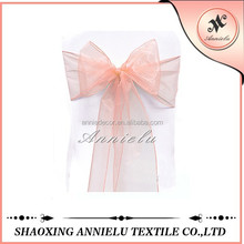 Wholesale wedding organza chair cover sashes